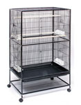 "Prevue Bird Flight Cage with Stand 31"" x 20.5"" x 53"" 1/2 Bar Spacing #F040 by Prevue"