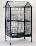 "Small Bird Flight Cage 43"" x 32"" x 68"" - 3/8"" Bar Spacing #A03 Mfg. King's Cages"