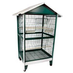 Pitched Roof Aviary by A&E Cages