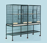 "HQ Double Flight Cage 64"" x 21"" x 62"" HQ16421 or Sunlite-648 Dist. Up Right Trading"