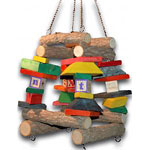 Parrot Swing Box by Bean's Little Store