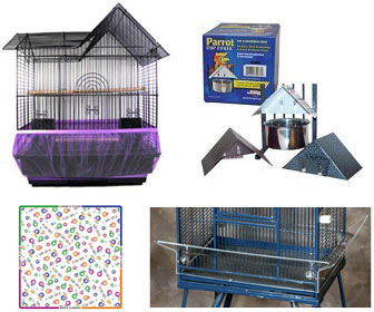 Perch Factory Bird Cage Seed Catcher Skirt Poop