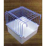 Perch Factory Parakeet Cage Baths Parrot Bird Bath Tubs