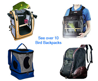 Perch Factory Backpack Bird Carrier Parrot Backpack