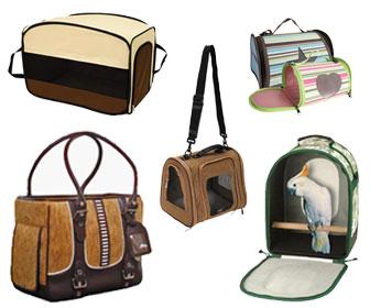 Perch Factory Pet Bird Carrier Bird Travel Bag Parrot Handbag