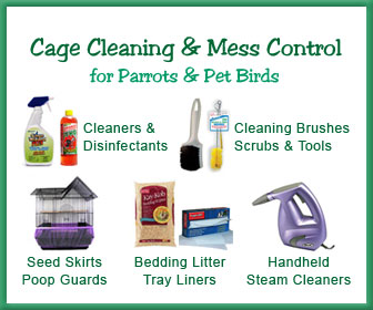 Bird Cage Seed Catcher, Bird Cage Bedding, Cage Cleaner