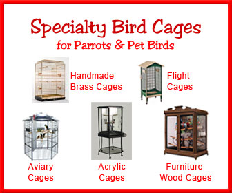 Furniture Cages, Acrylic Cages, Flight Cages, Aviary Bird Cage
