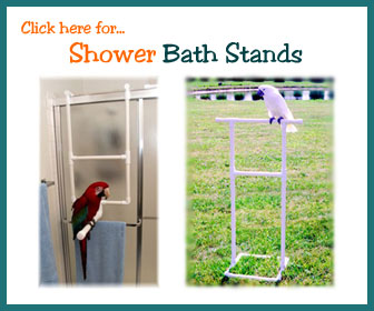 Bird Shower Stands