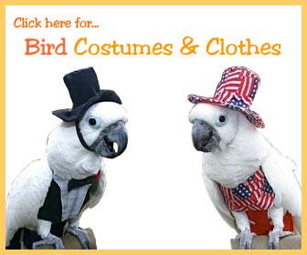 Perch Factory Bird Shoulder Capes Diapers Costumes
